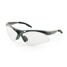 DIAMONDBACK Eyewear - Clear Lens, Silver Frame w Polybag
