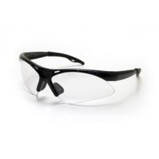 DIAMONDBACK Eyewear - Clear Lens, Black Frame w Polybag