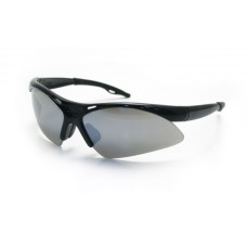 DIAMONDBACK Eyewear - Smoke Mirror Lens, Black Frame w Polybag