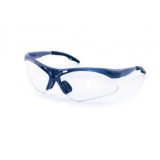 DIAMONDBACK Eyewear - Clear Lens, Blue Frame w Polybag
