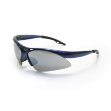 DIAMONDBACK Eyewear - Smoke Mirror Lens, Blue Frame w Polybag
