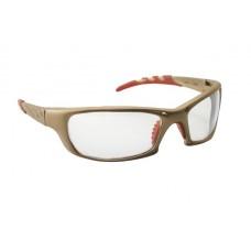 GTR Eyewear - Clear Lens, Gold Frame w Polybag