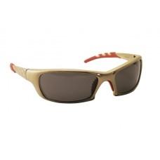 GTR Eyewear - Shade Lens, Gold Frame w Polybag