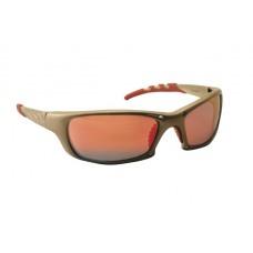 GTR Eyewear - Iridium Lens, Gold Frame w Polybag