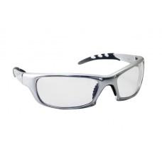 GTR Eyewear - Clear Lens, Silver Frame w Polybag
