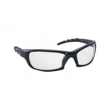 GTR Eyewear - Clear Lens, Charcoal Frame w Polybag