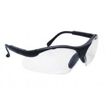 SIDEWINDER Eyewear - Clear Lens, Black Frame w Polybag