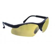 SIDEWINDER Eyewear - Gold Mirror Lens, Black Frame w Polybag