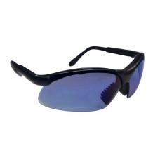SIDEWINDER Eyewear - Blue Mirror Lens, Black Frame w Polybag