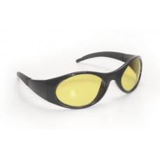 Stingers Eyewear - Yellow Lens, Black Frame w Polybag