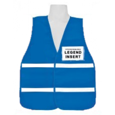 Blue Incident Command Vest