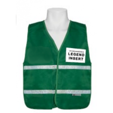 Green Incident Command Vest