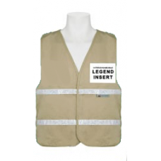Khaki Incident Command Vest