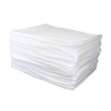 "Absorbent Oil Pads 16""x20"" (Non-Aqueous Liquid Pads. Box of 100)"