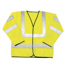 ANSI Class 3 Safety Jacket (Yellow)