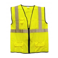 ANSI Class 2 Surveyor's Vest (Yellow)