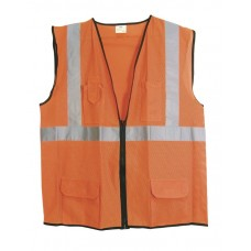 ANSI Class 2 Surveyor's Vest (Orange)