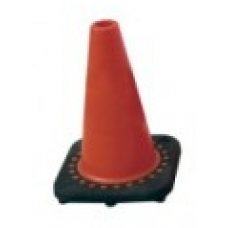 Safety Cones (12in Sports Cone)  Brilliant Fluorescent Red-Orange with UV Inhibitor