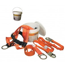 Miller Titan ReadyWorker Fall Protection Kit with Harness and Lanyard