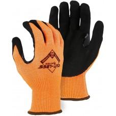 Orange Cut-Less Annihilator with Sandy Nitrile Palm
