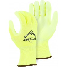 Cut-Less Watchdog® Hi-Vis Knit w Polyurethane Palm