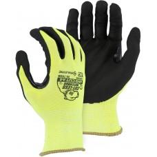 Foam Nitrile Palm Dipped Cut Resistant Glove, ANSI A4