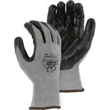 Cut-Less Watchdog® Knit Glove w Flat Nitrile Palm