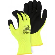 Cut-Less Watchdog® Knit Glove w Sandy Nitrile Palm