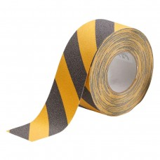"Brady Anti-Skid Tape, 3"" x 60', Black/Yellow"